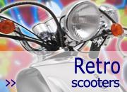 Retro scooters